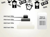 Floating Hours PowerPoint Template#8