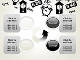 Floating Hours PowerPoint Template#9
