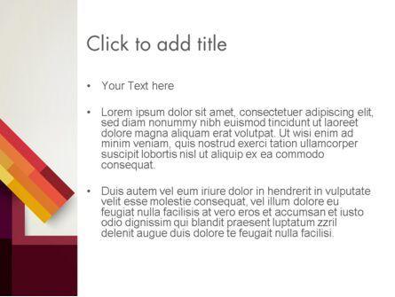Vivid Up Arrow PowerPoint Template, Slide 3, 13030, Business Concepts — PoweredTemplate.com