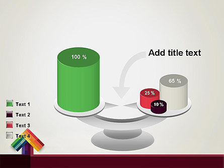 Vivid Up Arrow PowerPoint Template Slide 10