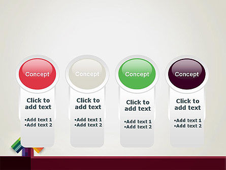 Vivid Up Arrow PowerPoint Template Slide 5