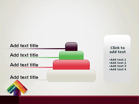 Vivid Up Arrow PowerPoint Template Slide 8