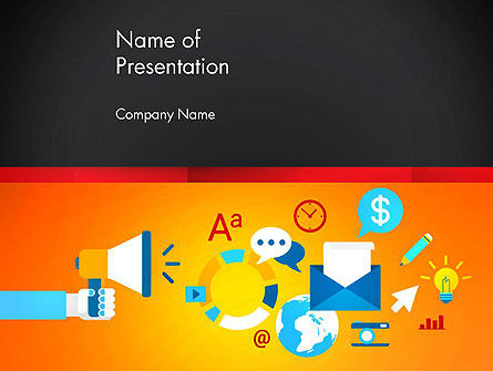 Product Promotion Concept PowerPoint Template