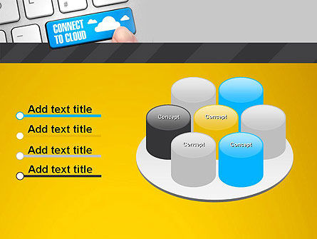 Cloud Backup PowerPoint Template Slide 12
