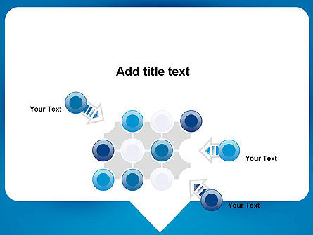 Speech Bubble PowerPoint Template Slide 10