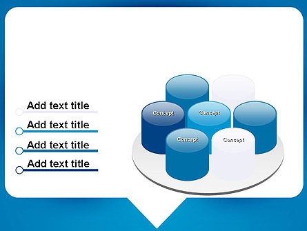 Speech Bubble PowerPoint Template Slide 12