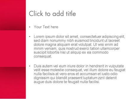 Crimson PowerPoint Template, Slide 3, 13035, Abstract/Textures — PoweredTemplate.com