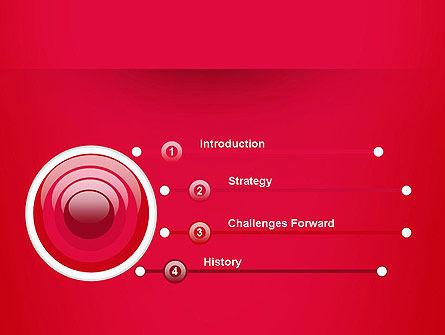 Crimson PowerPoint Template Slide 3