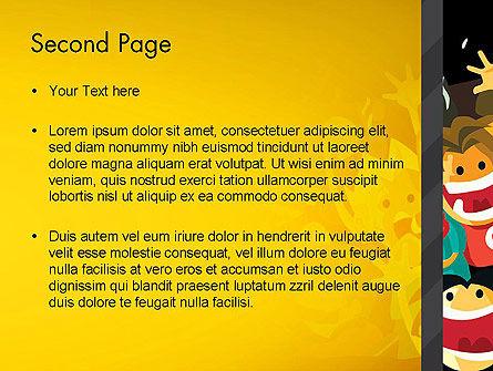 Sports Fans PowerPoint Template, Slide 2, 13037, Sports — PoweredTemplate.com