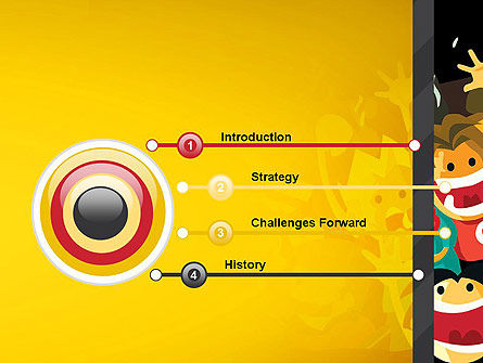 Sports Fans PowerPoint Template, Slide 3, 13037, Sports — PoweredTemplate.com
