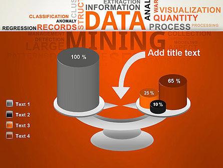 Data Mining Word Cloud PowerPoint Template Slide 10