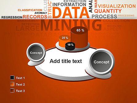Data Mining Word Cloud PowerPoint Template Slide 16