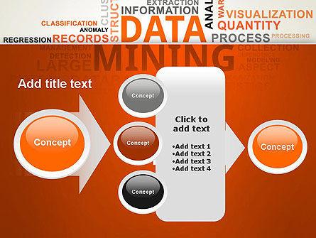 Data Mining Word Cloud PowerPoint Template Slide 17