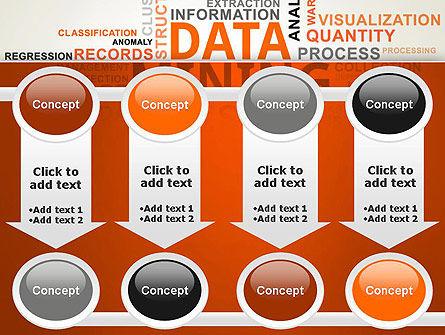 Data Mining Word Cloud PowerPoint Template Slide 18