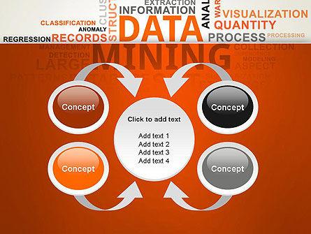 Data Mining Word Cloud PowerPoint Template Slide 6