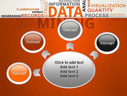 Data Mining Word Cloud PowerPoint Template Slide 7