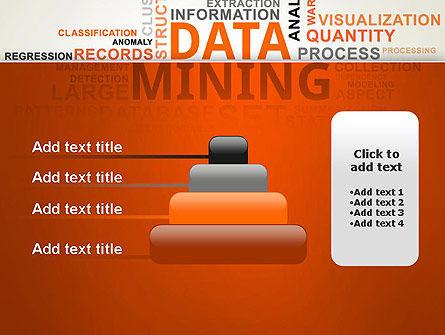 Data Mining Word Cloud PowerPoint Template Slide 8