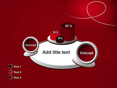 Abstract Loop PowerPoint Template Slide 16