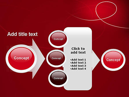 Abstract Loop PowerPoint Template Slide 17