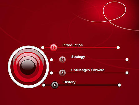 Abstract Loop PowerPoint Template Slide 3