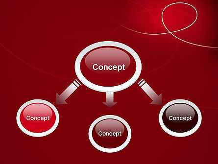 Abstract Loop PowerPoint Template Slide 4
