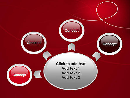 Abstract Loop PowerPoint Template Slide 7