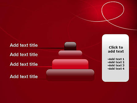 Abstract Loop PowerPoint Template Slide 8