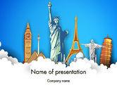 Careers/Industry: Landmarks PowerPoint Template #13044