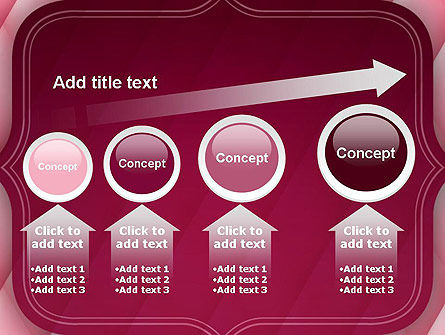 Abstract Pink Quilted Satin Frame PowerPoint Template Slide 13