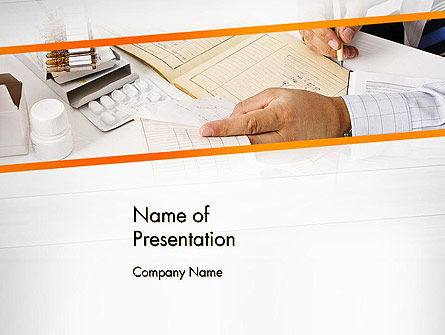 Clinical Consulting Services PowerPoint Template