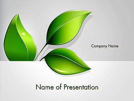 Nature & Environment: Ecological Theme PowerPoint Template #13050