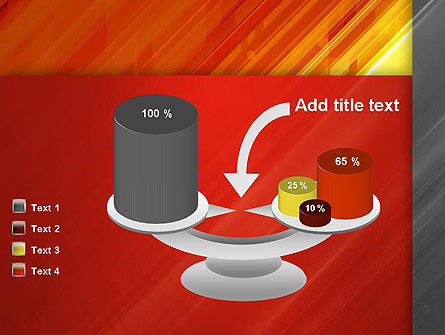 Abstract Fiery Theme PowerPoint Template Slide 10