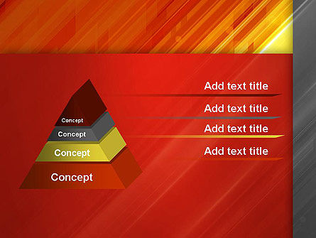 Abstract Fiery Theme PowerPoint Template Slide 12