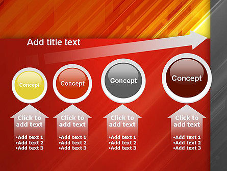Abstract Fiery Theme PowerPoint Template Slide 13