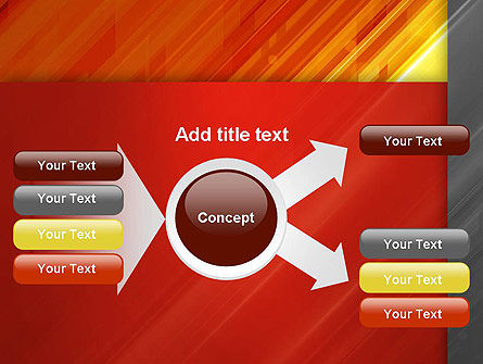 Abstract Fiery Theme PowerPoint Template Slide 14