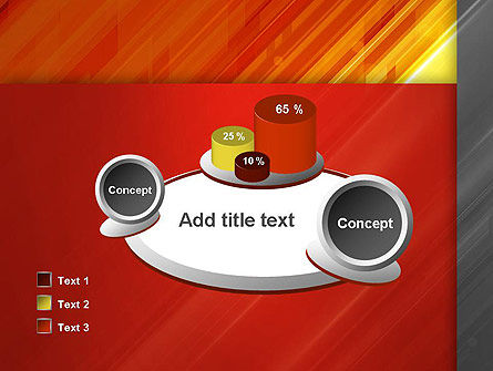 Abstract Fiery Theme PowerPoint Template Slide 16