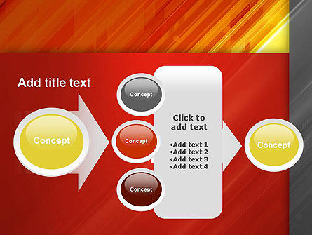 Abstract Fiery Theme PowerPoint Template Slide 17