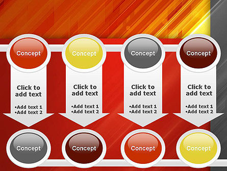 Abstract Fiery Theme PowerPoint Template Slide 18