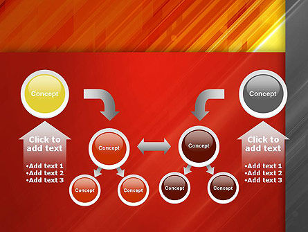 Abstract Fiery Theme PowerPoint Template Slide 19