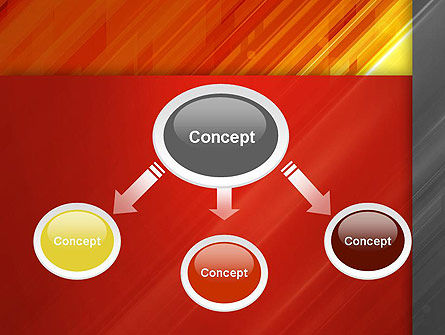 Abstract Fiery Theme PowerPoint Template Slide 4