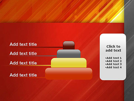 Abstract Fiery Theme PowerPoint Template Slide 8