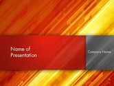 Abstract/Textures: Abstract Fiery Theme PowerPoint Template #13052