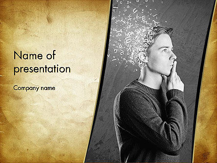 Swarm of Thoughts PowerPoint Template