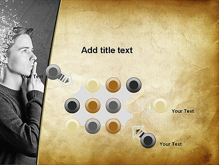Swarm of Thoughts PowerPoint Template Slide 10