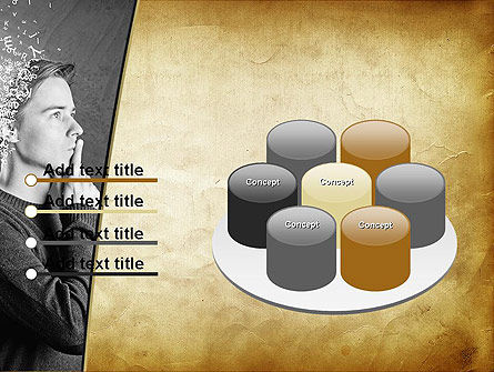 Swarm of Thoughts PowerPoint Template Slide 12