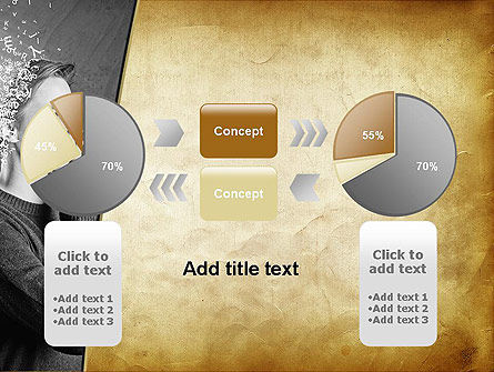 Swarm of Thoughts PowerPoint Template Slide 16