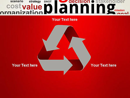 Strategic Planning and Management Word Cloud PowerPoint Template Slide 10