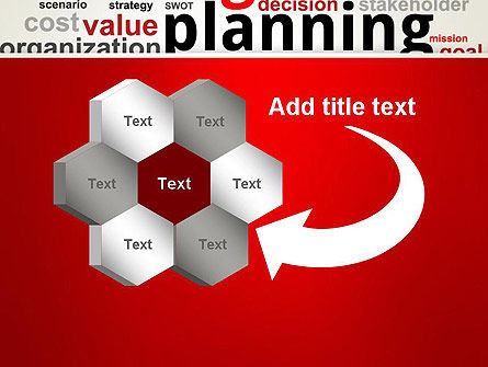 Strategic Planning and Management Word Cloud PowerPoint Template Slide 11