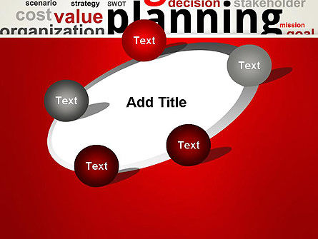 Strategic Planning and Management Word Cloud PowerPoint Template Slide 14
