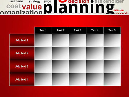 Strategic Planning and Management Word Cloud PowerPoint Template Slide 15